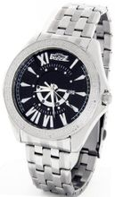 Freeze Genuine Diamond Stainless Steel Black Face #FR-750