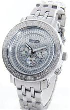 Freeze Genuine Diamond Stainless Steel Iced Out Face .75ct Diamonds