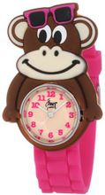 Frenzy Kids' FR2000 Monkey Critter Face With Magenta Rubber Band