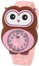 Frenzy Kids' FR2005 Owl Critter Face With Pink Rubber Band
