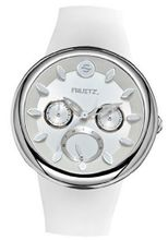 Fruitz by Philip Stein Pina Colada Happy Hour White Stainless Steel
