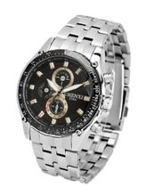 Sports Series F1 Racing Multifunction es Quartz Mechanical Stainless steel Wrist Black