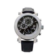 Gallucci Automatic Black Dial Silver Case #WT22448AU/SSL-K