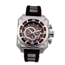 Gallucci Automatic Brown Carbon Dial #WT23039AU/SSL-BN