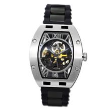 Gallucci Automatic Skeleton IP Black/Steel Case Black Movt #WT22272SK/SS-SP-BK