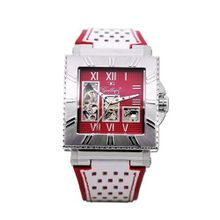 Gallucci Automatic Skeleton Red/Silver Dial #WT22454SK/SSL-RPRW