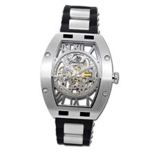 Gallucci Automatic Skeleton Steel Case Silver Movt #WT22272SK/SS-SP-SL