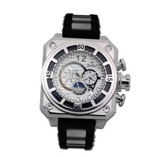 Gallucci Automatic White Carbon Dial #WT23039AU/SS-SP