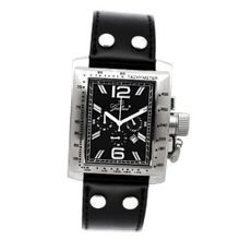 Gallucci Chronograph Quartz Steel Case Black Dial Crown #WT22484CH/SSL-PK