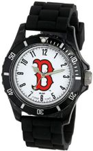 "Game Time Kids' MLB-WIL-BOS Wildcat MLB Series Boston Red Sox ""B"" Logo 3-Hand Analog"