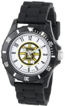 Game Time Kids' NHL-WIL-BOS Wildcat College Series Boston Bruins 3-Hand Analog