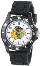 Game Time Kids' NHL-WIL-CHI Wildcat College Series Chicago Black Hawks 3-Hand Analog