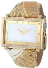Gattinoni 202779GA13-2A Sirio Gold Ion-Plated Coated Stainless Steel Swarovski Crystal