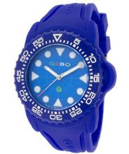 Blue Dial Blue Rubber