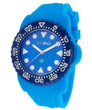 Blue Dial Light Blue Rubber