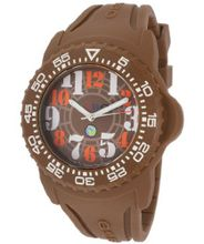 Brown Dial Brown Silicone