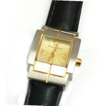GIORDANO 2061-5 Ladies Black Leather Strap Ideal For Small Wrists.