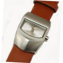 GIORDANO 2067-2 Ladies Tan Brown Leather Strap
