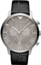 Armani AR1615 45mm Stainless Steel Case Crocodile Mineral
