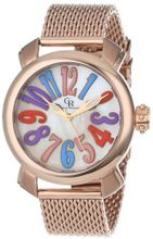 Giulio Romano GR-7000-09-001.8 Rimini Mother-Of-Pearl Multi-Colored Dial Rose Gold Ion-Plated