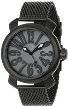 Giulio Romano GR-7000-13-007 Rimini Black Mother-Of-Pearl Dial Black Ion-Plated