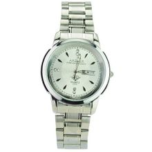 Ardour 2303 Excellent Classic Automatic Business Stainless Steel Wrist - White Dial