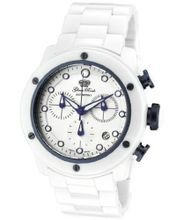 Aqua Rock Chronograph White Dial White Ceramic