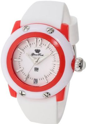 Glam Rock GK4012 Miami Beach White Dial White Silicone