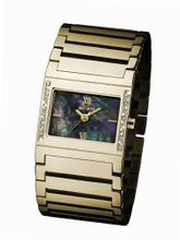 Glamour Time GT310G31-2 Ladys Wrist Gold plated Stainless Steel Strap
