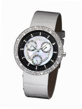 Glamour Time GT800ST3-1wh Ladys Wrist White Leather Strap