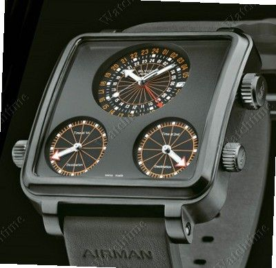 Glycine Airman Airman 7 Plaza Mayor Titanium