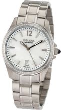 Golana Swiss AU100-5 Aura Pro 100 White Mother-of-Pearl Dial Stainless Steel