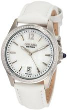 Golana Swiss AU100-6 Aura Pro 100 White Mother-of-Pearl Dial Leather