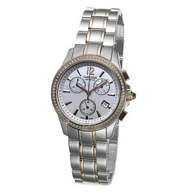 Golana Swiss AU150-4 Aura Two Tone Stainless Steel Dress