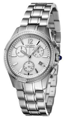 Golana Swiss AU200-5 Aura Pro 200 Diamonds Quartz Chronograph