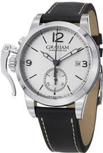 Graham Chronofighter 1695 Silver Dial Automatic Chronograph 2CXAS.S02A