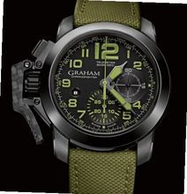 Graham Chronofighter Chronofighter Oversize Amazonia Green