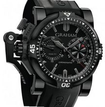 Graham Chronofighter Chronofighter Oversize Diver Deep Black