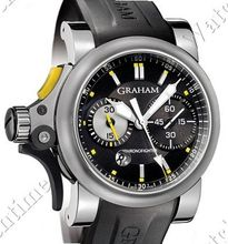 Graham Chronofighter R.A.C Trigger Chronofighter R.A.C. Trigger Black Rush