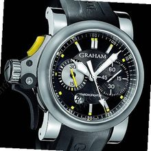 Graham Chronofighter R.A.C Trigger Chronofighter RAC Trigger - Steel Black Rush