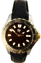 Great Timing GT 10-Year Lithium Battery 2-Tone 20ATM Diver Black Swiss GTA9610T