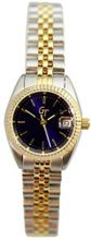 Great Timing GT 2-Tone 10ATM Blue Dial Link Band Date Swiss GTA...