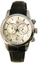 Great Timing GT Swiss Chrono 10ATM Black Strap GTA9829W-s-sil