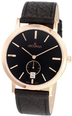 Grovana 1050.1567 Classic Rose Gold Analog Black