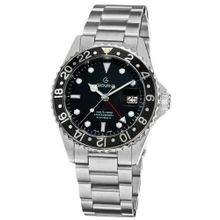 Grovana 1572.2137 GMT GMT Stainless Steel Bracelet Automatic