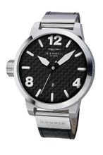 Haemmer H-16 Forte Automatic Stainless Steel Luminous Black Leather Date