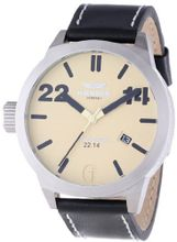 Haemmer Hq-01 London Stainless Steel Beige Dial Date Limited Edition