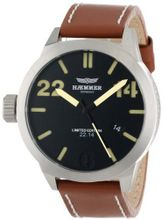 Haemmer HQ-02 Dublin Stainless Steel Brown Leather Date Limited Edition