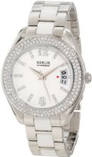 Hamlin HACL0416:002 Ceramique Bling and Stainless Steel Austrian Crystals