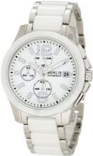 Hamlin HACL0417:002 Ceramique Oversized Chronograph Surgical Stainless Steel
